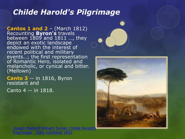 an analysis of childe harolds pilgrimage by lord byron Publisher's summary childe harold's pilgrimage is a fascinating portrait of 19th- century europe - disillusioned and ravaged by the wars of the postrevolutionary   here is the poem that set byron on his meteoric rise to fame in london society.