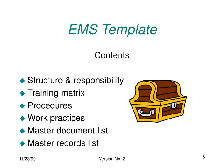 EMS Template