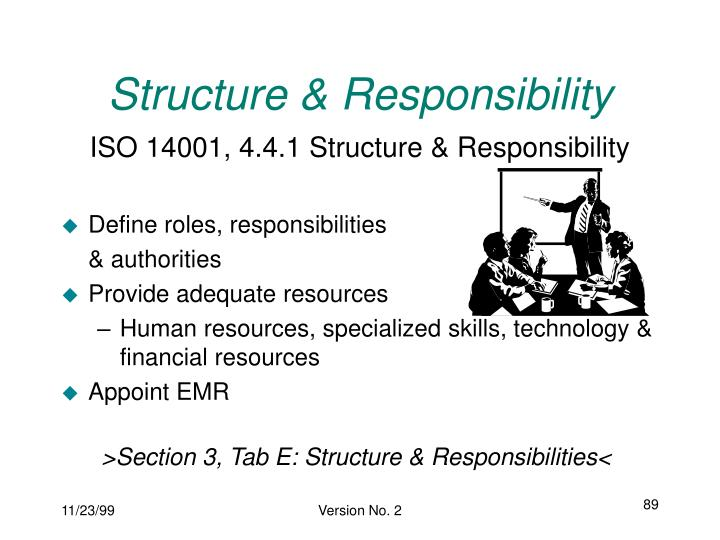 Structure & Responsibility