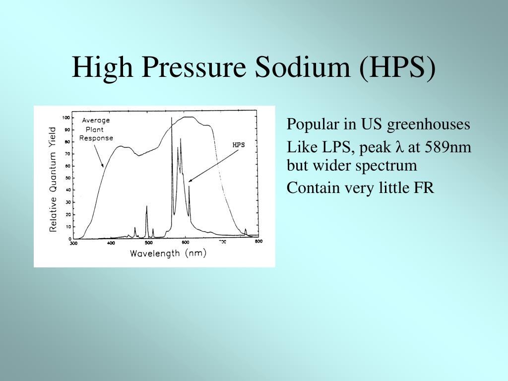 High Pressure Sodium (HPS)