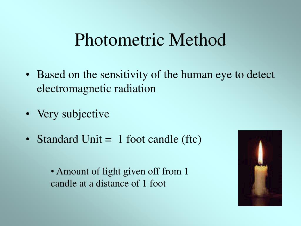 Photometric Method