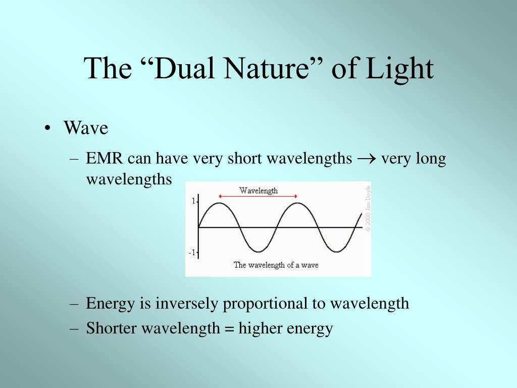 "The ""Dual Nature"" of Light"
