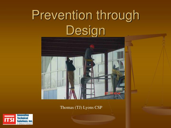 Prevention through design