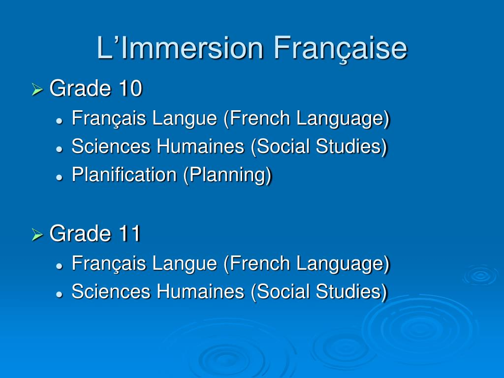 L'Immersion