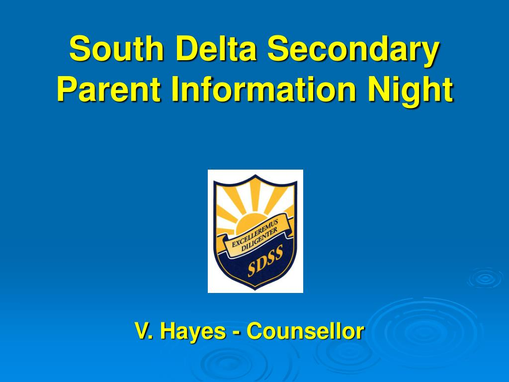 South Delta Secondary