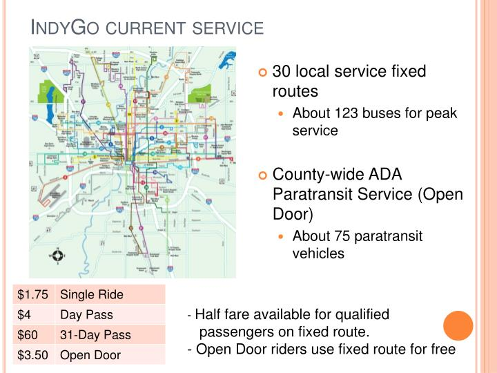 IndyGo current service