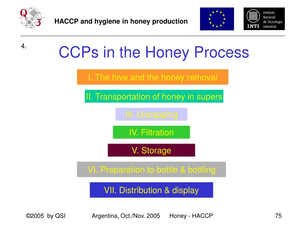 CCPs in the Honey Process