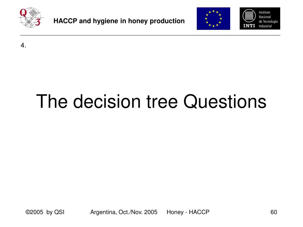 The decision tree Questions