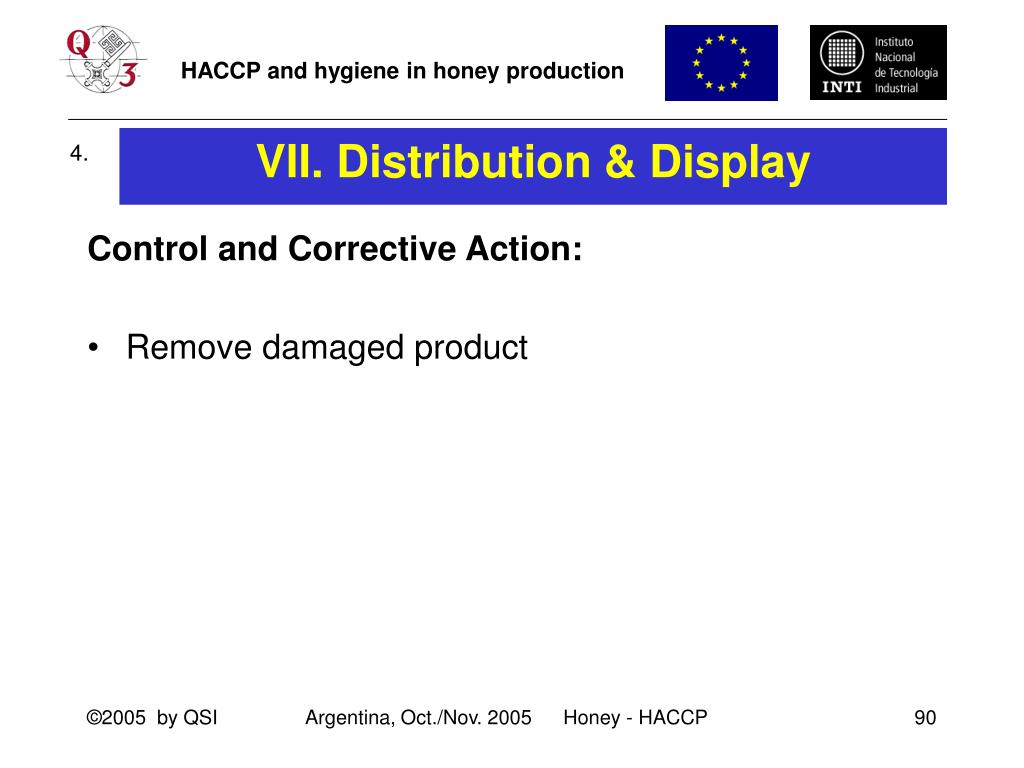 VII. Distribution & Display
