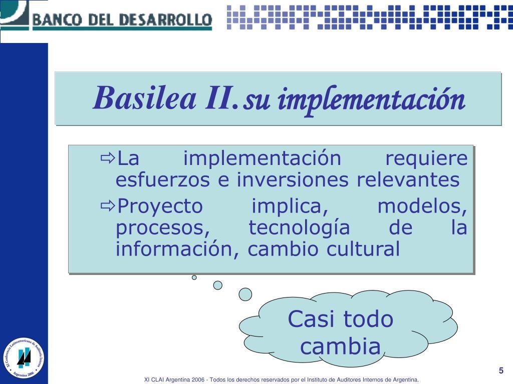 Basilea II.
