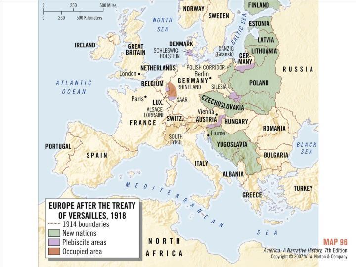 Europe, 1918