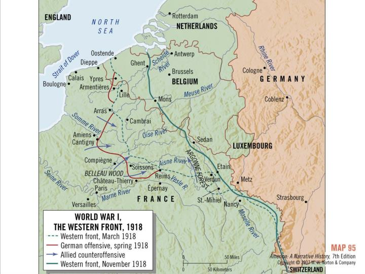 Western Front of WWI