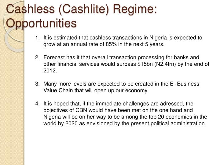 Cashless (