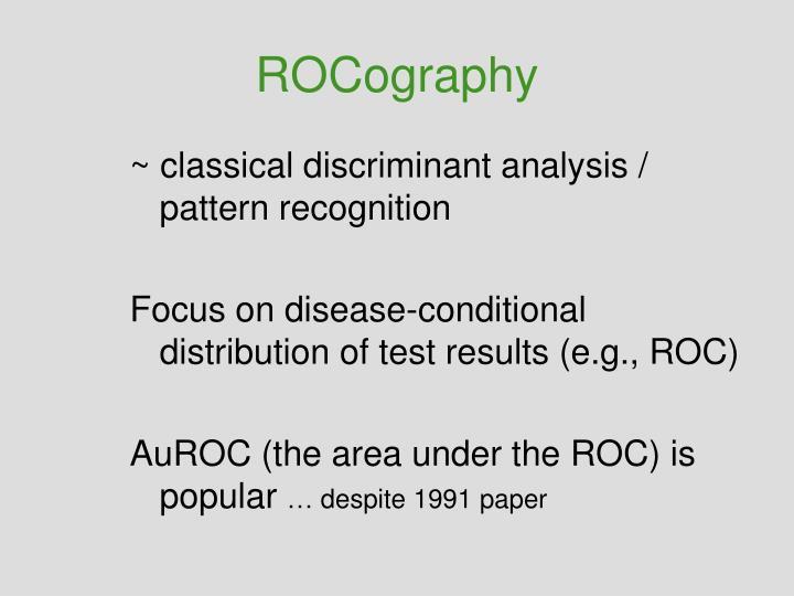 ROCography