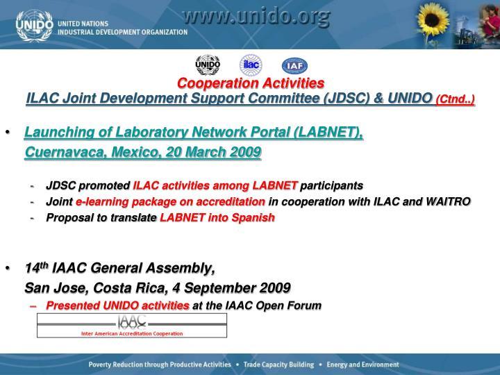 Launching of Laboratory Network Portal (LABNET),