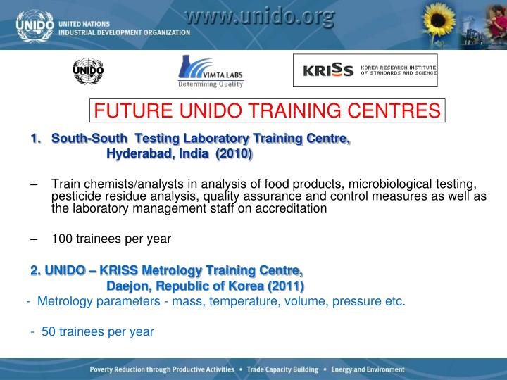South-South  Testing Laboratory Training Centre,