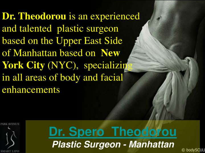 Dr spero theodorou plastic surgeon manhattan