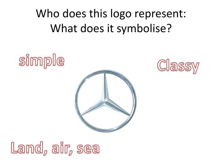 Who does this logo represent:
