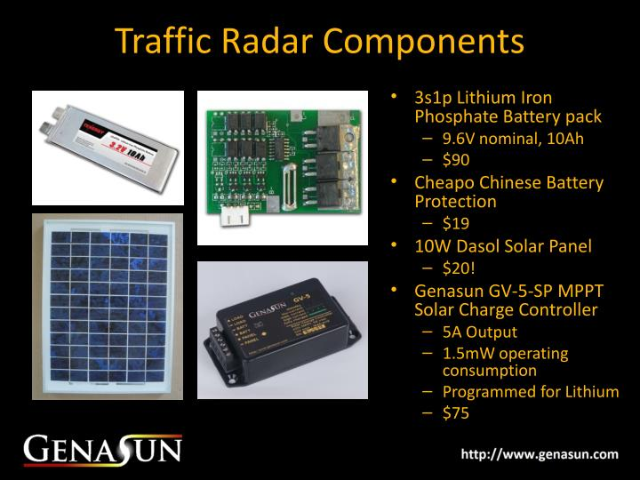 Traffic Radar Components