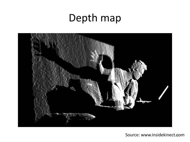 Depth map