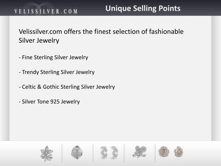 Unique Selling Points
