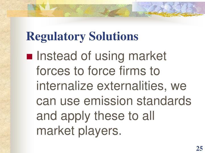 Regulatory Solutions