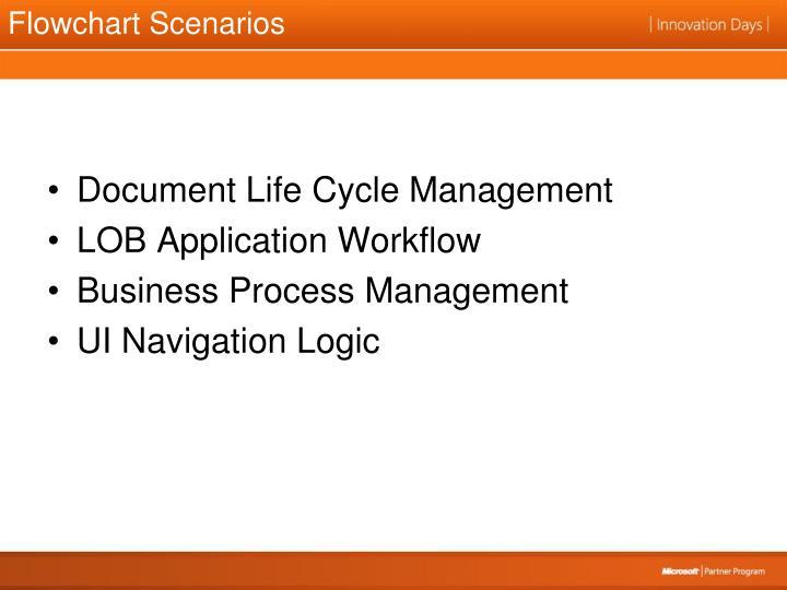 Flowchart Scenarios