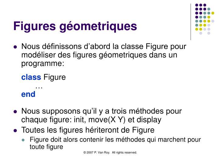 Figures géometriques