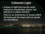 coherent light