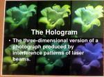 the hologram