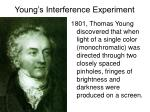 young s interference experiment
