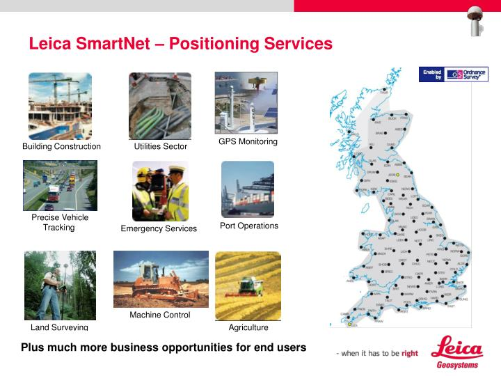 Leica SmartNet – Positioning Services