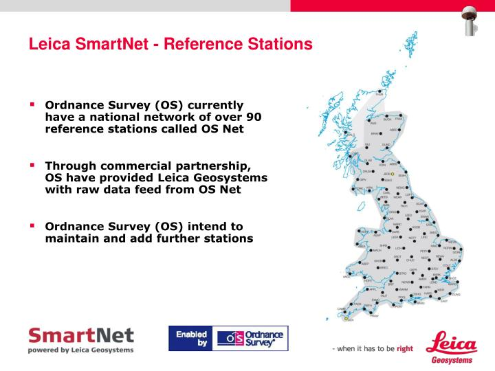 Leica smartnet reference stations