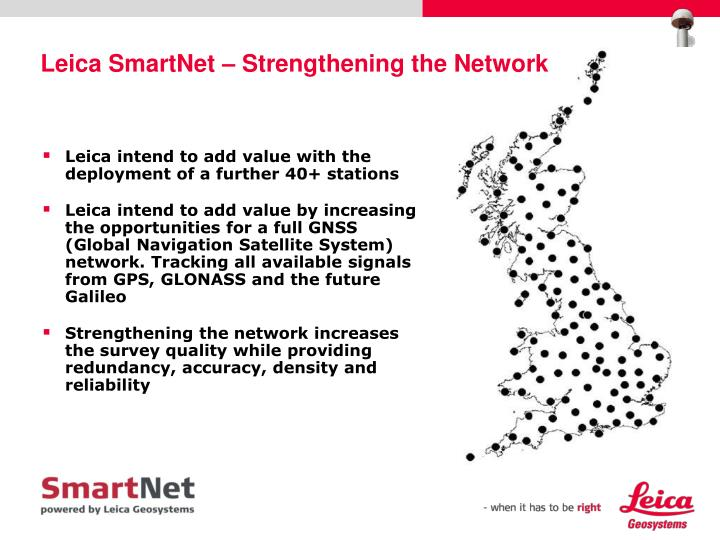 Leica SmartNet – Strengthening the Network