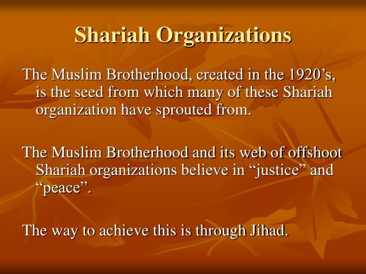 Shariah Organizations