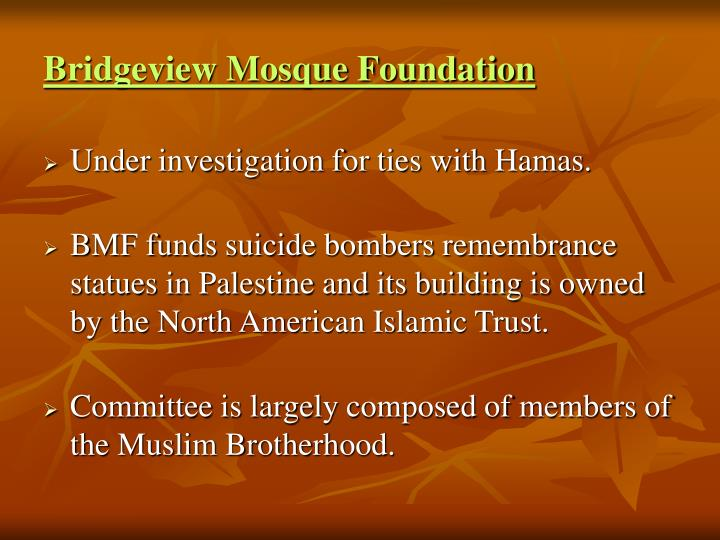 Bridgeview Mosque Foundation