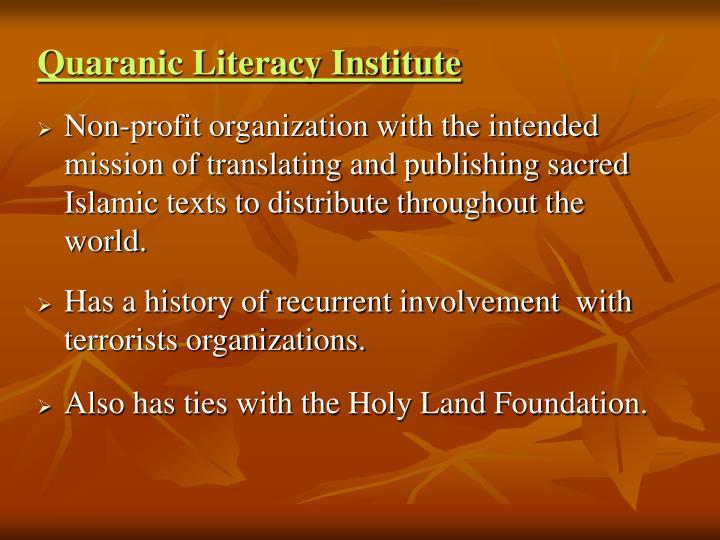 Quaranic Literacy Institute