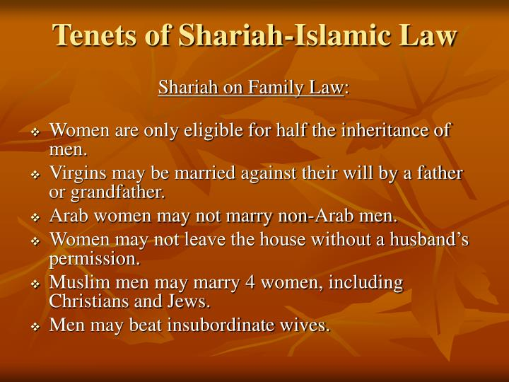 Shariah on Family Law