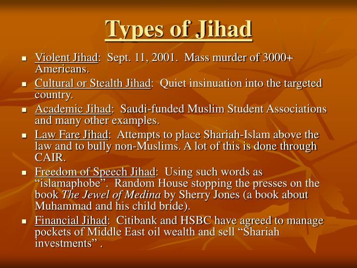 Types of Jihad