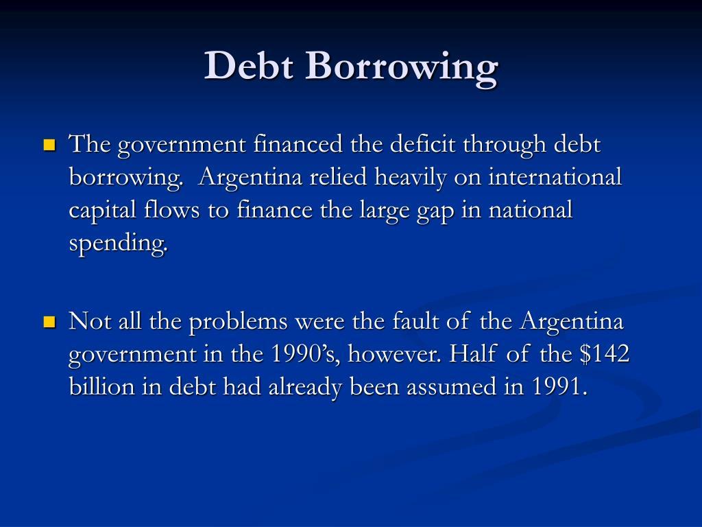 Debt Borrowing