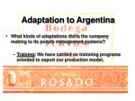 adaptation to argentina12