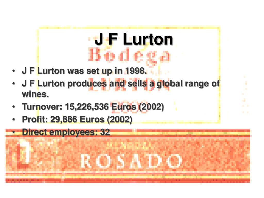 J F Lurton