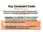 key constraint costs14
