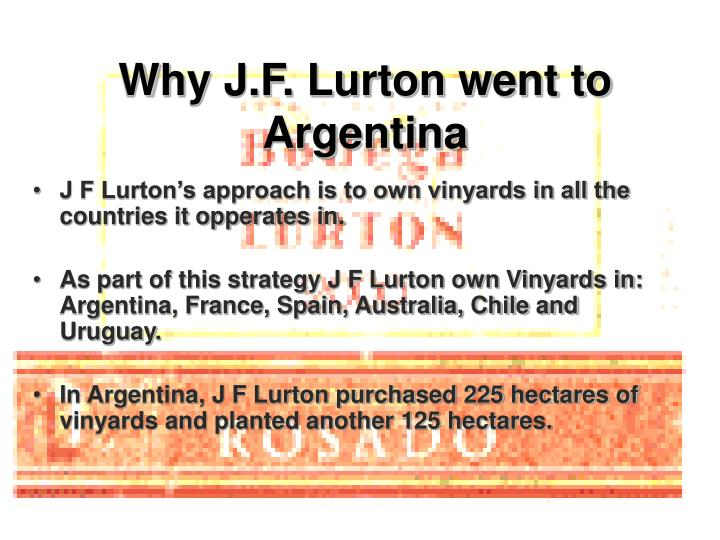 Why j f lurton went to argentina l.jpg