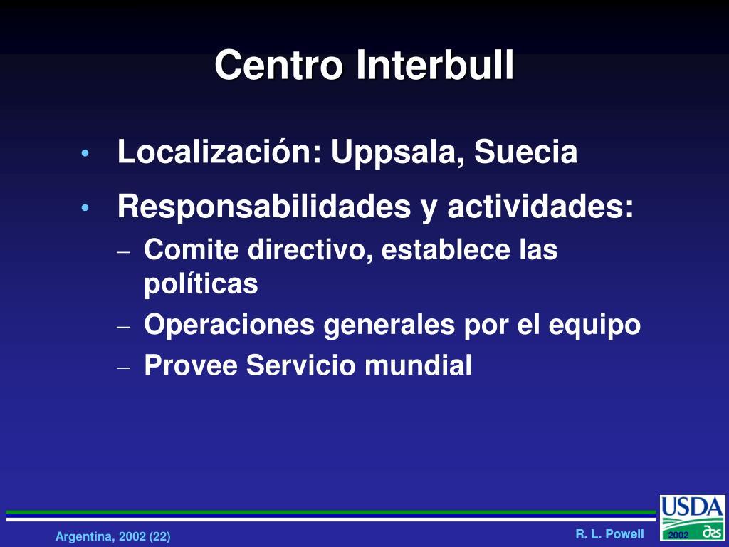 Centro Interbull