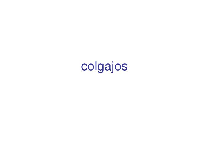colgajos