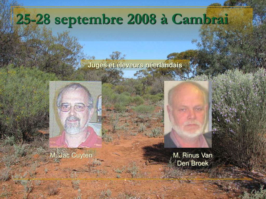 25-28 septembre 2008 à Cambrai