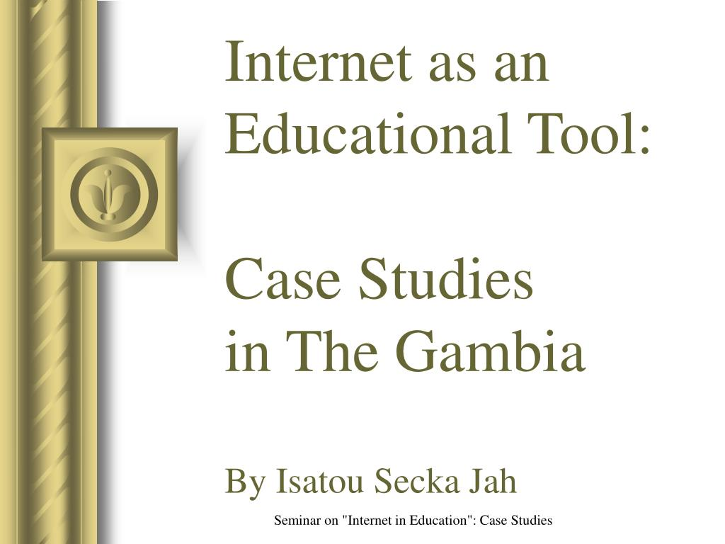 Internet as an Educational Tool: