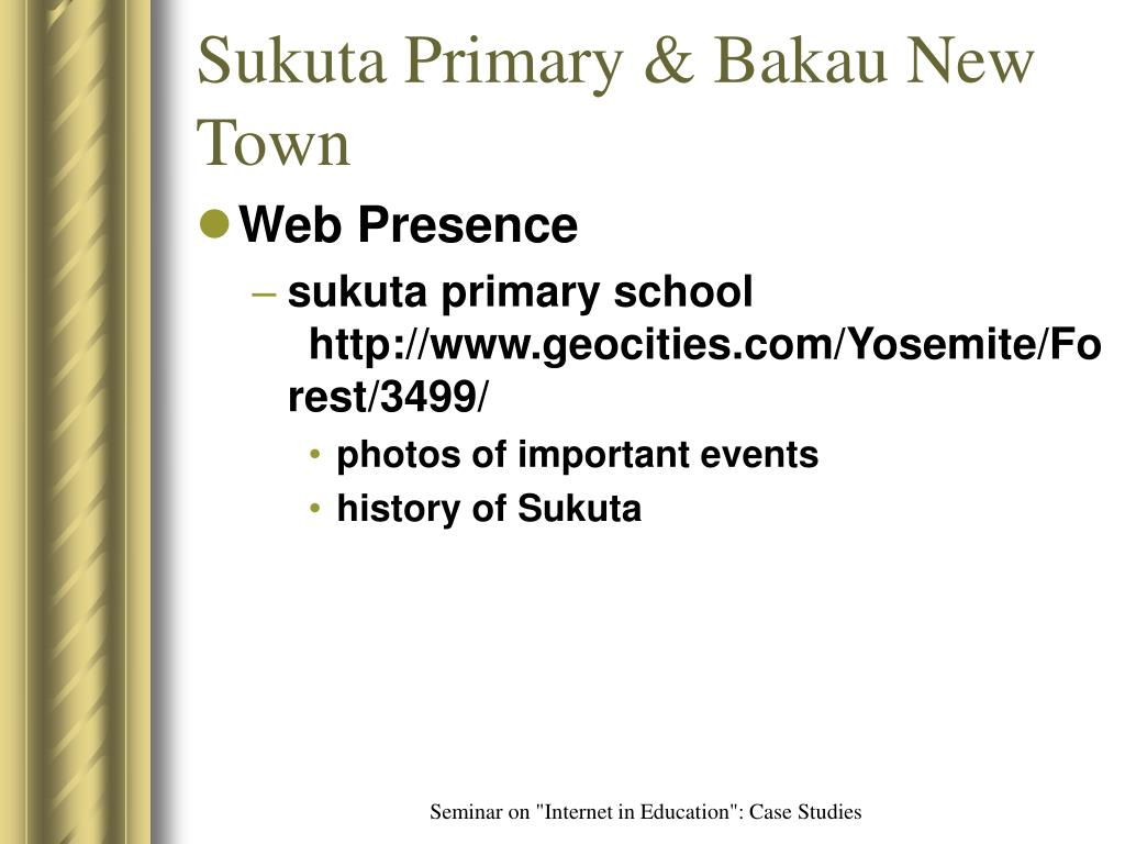 Sukuta Primary & Bakau New Town