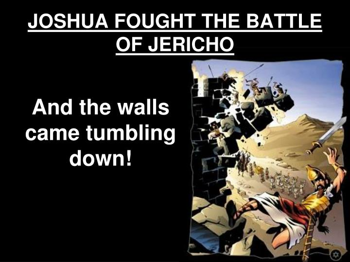 the battle of jericho Supersummary, a modern alternative to sparknotes and cliffsnotes, offers high-quality study guides that feature detailed chapter summaries and analysis of major themes, characters, quotes, and essay topics.